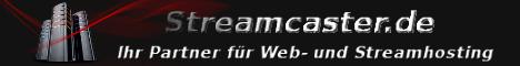 Streamcaster - Web- und Streamhosting zu fairen Preisen